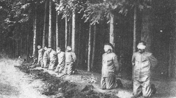 Austria-Hungary suppressing Czech revolt in 1918