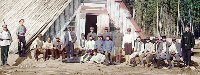 Austro-Hungarian Prisoners of War in WW1