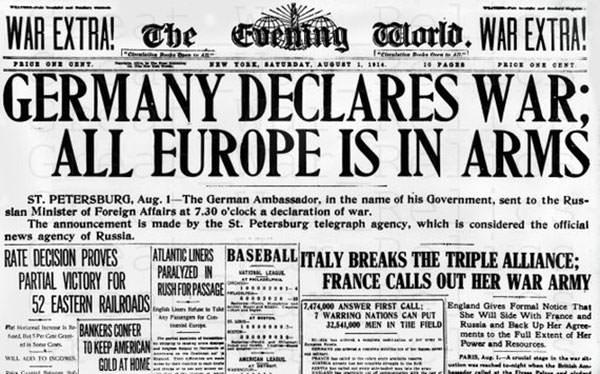 German declaration of war report