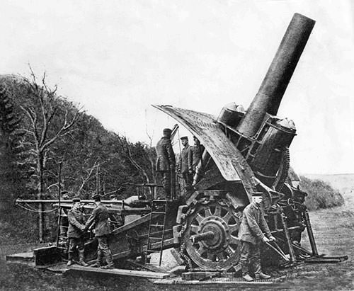 Big Bertha howitzer