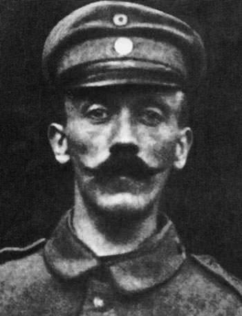 Adolf Hitler in 1915