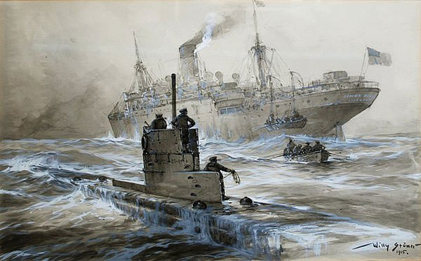 Sinking of Linda Blanche WW1