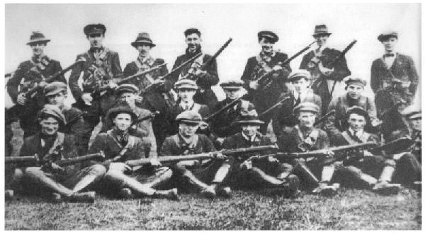 Irish War of Independence soldiers