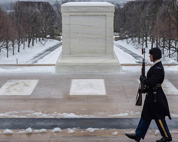 Tomb of the Unknown Soldier, Arlington