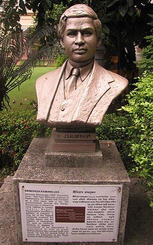 Ramanujan bust