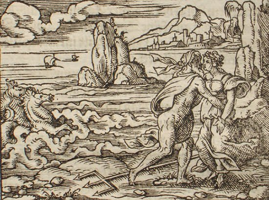 Poseidon and Caenis