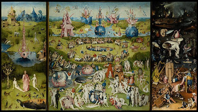 The Garden of Earthly Delights (1515)