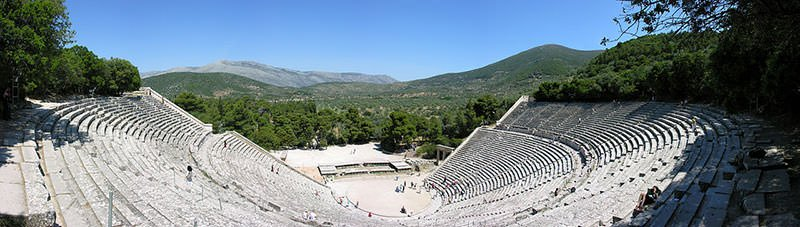 Ancient Greek theatre at Epidaurus