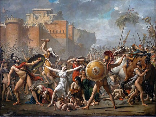 The Intervention of the Sabine Women (1799)