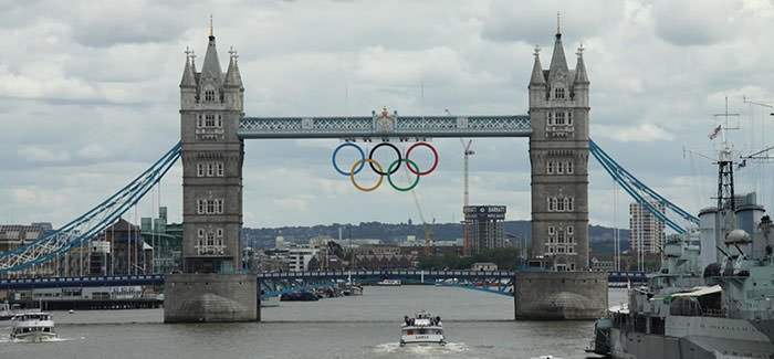 Tower Bridge Olympics 2012
