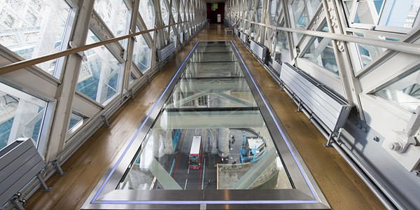 Tower Bridge high-level walkway